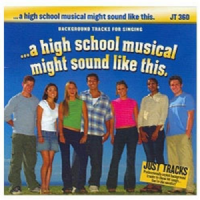 A High School Musical might sound like this... Karaoke CD